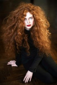 ginger & red hair looks