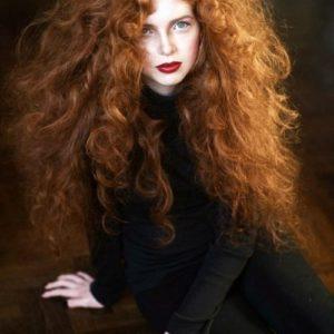 ginger & red hair looks