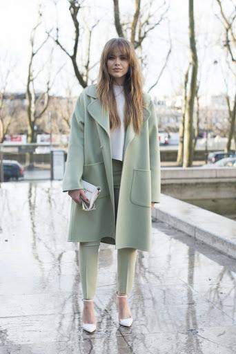 women's green pastel coats for winter