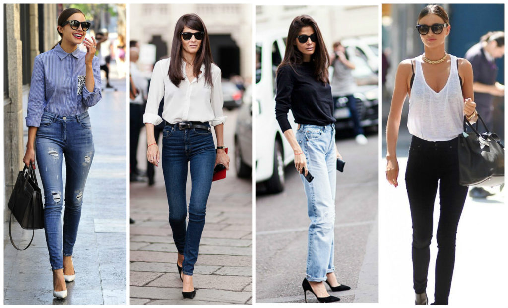 women's bell bottom jeans outfits