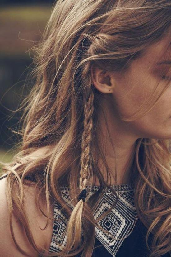 hippie & boho hairstyles for women