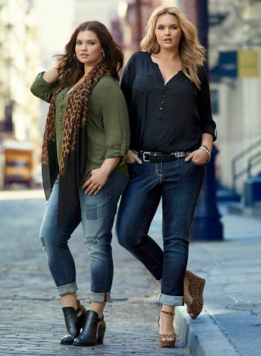 casual outfits for curvy women