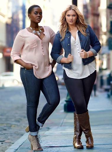 jeans styles for curvy women