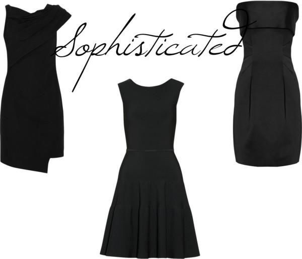 timeless little black dress