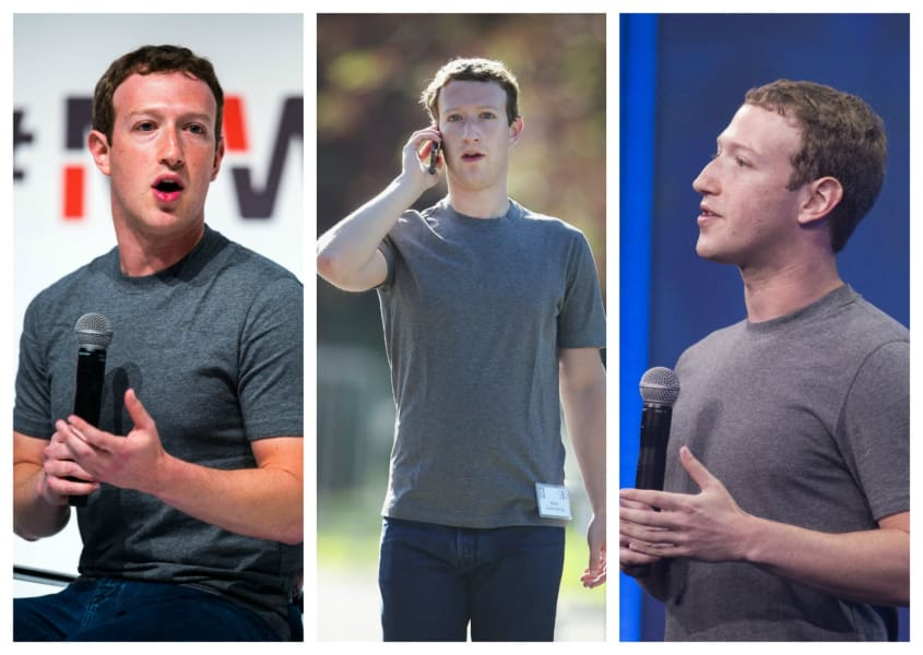mark zuckerberg sober style