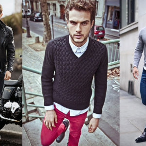men's v-neck sweaters for fall-winter