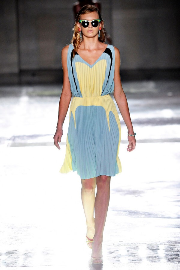 modern vintage americana style dress