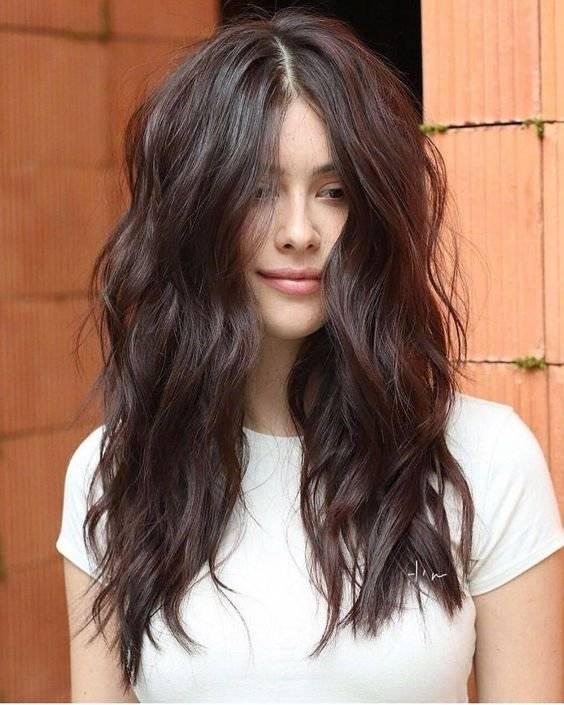 modern long jagged haircuts for women