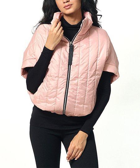 women's pink sporty short sleeve coats
