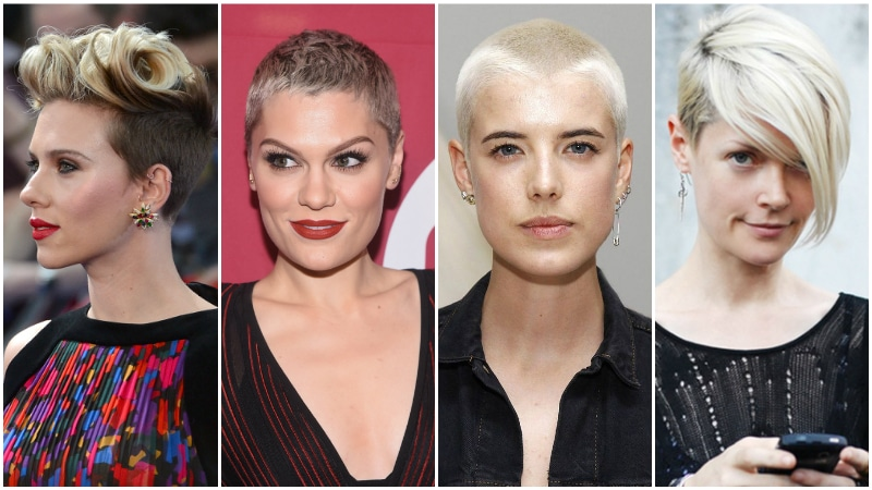 women's shaved hairstyles