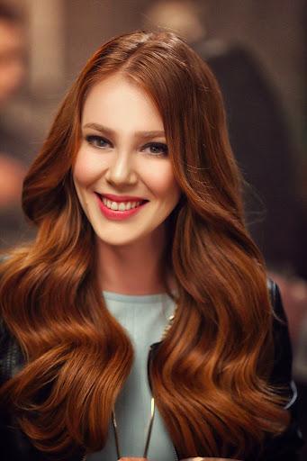 women's ginger hair