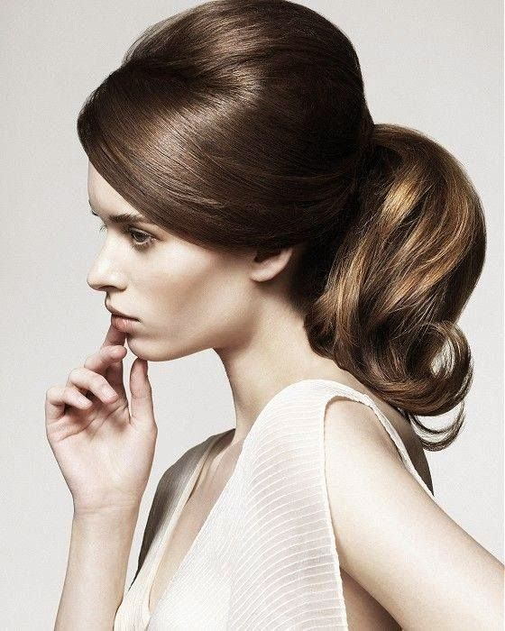 vintage collected long hairstyles for women