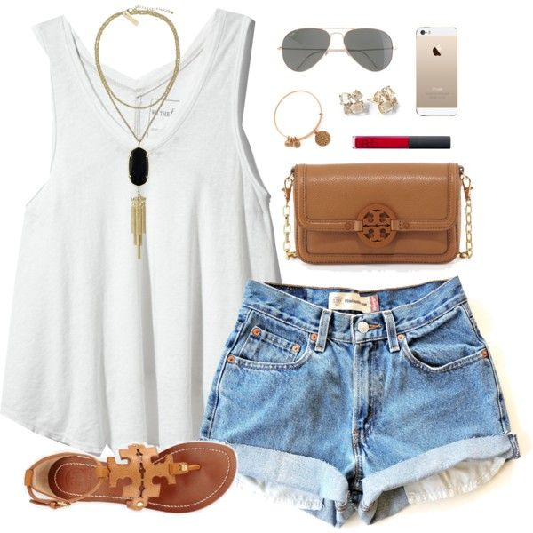 women's summer outfits with top shorts and sandals
