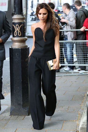 women's elegant outfit with black jumpsuits