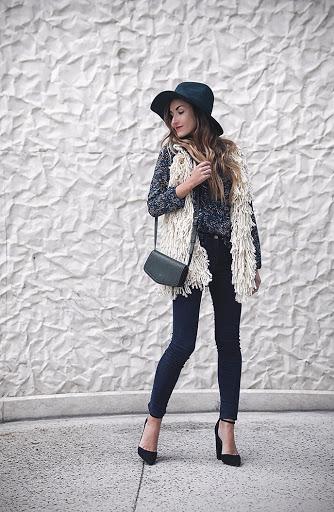 stylish women's vests fall outfits