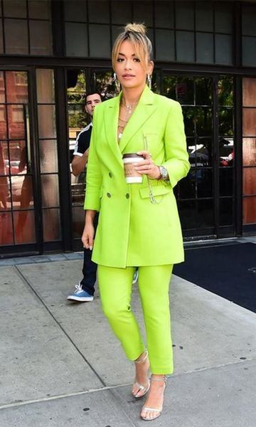 women's neon bright clothing suits