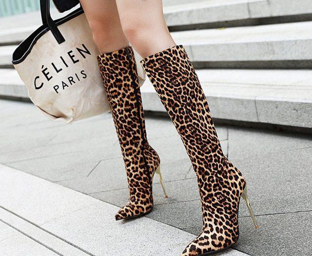 women's tall high boots