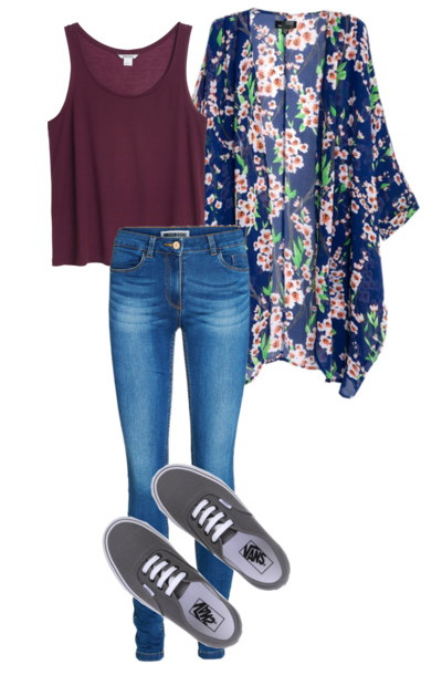 women's spring with loose fit oversized tops and jeans
